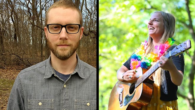 Author Josh Woods and singer-songwriter Rebecca Samples Smith both graduated Henderson County High School in 1999. Now, they're both bringing artistic passion projects to life.