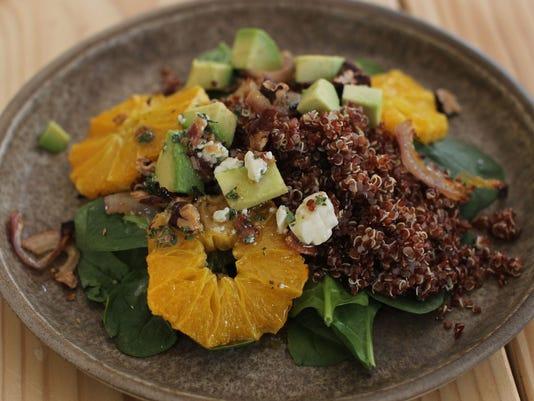 Food Healthy Spinach salad