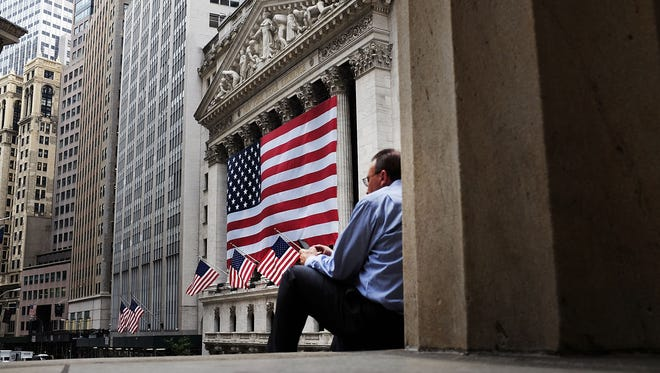 The New York Stock Exchange is viewed on Sept. 4, 2015, in New York City.
