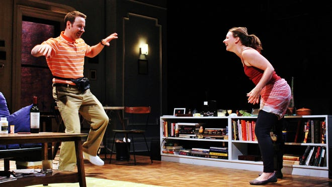 """Mark St. Germain's """"Dancing Lessons"""" will have performances through April 3 at Ithaca's Kitchen Theatre."""