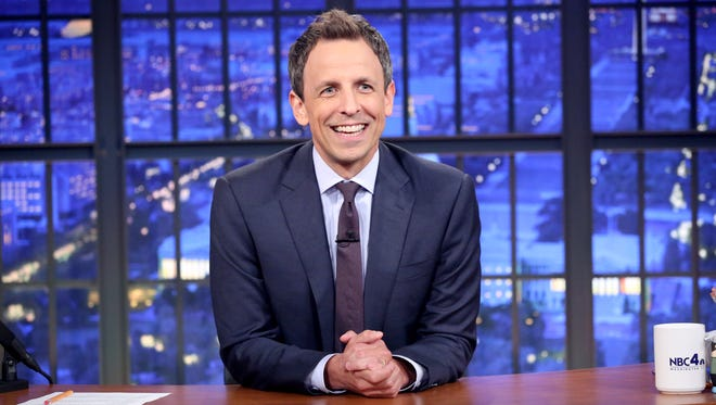 NBC late-night host Seth Meyers talked about Donald Trump's election on Wednesday's show.