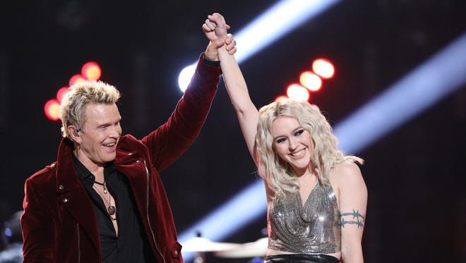 Chloe Kohanski, pictured with Billy Idol, was crowned the winner of Season 13 of 'The Voice' on Tuesday.