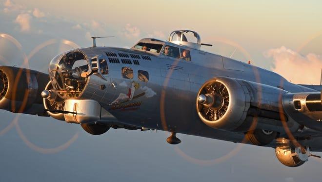B-17 Aluminum Overcast  Miami, Florida