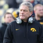 Iowa coach Kirk Ferentz has led the Hawkeyes to a 34-30 record since the 2010 Orange Bowl victory against Georgia Tech, including 19-21 in Big Ten play.