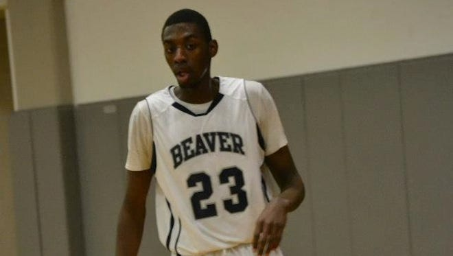 Purdue basketball signee Jacquil Taylor.
