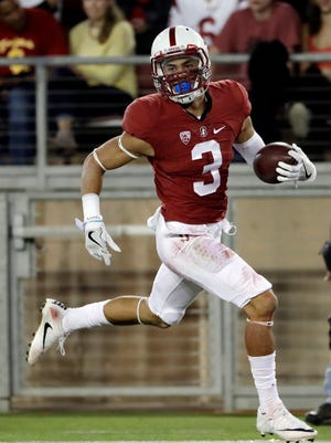 Stanford wide receiver Michael Rector