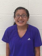 Tierny Shanta began her season at the New mexico Military
