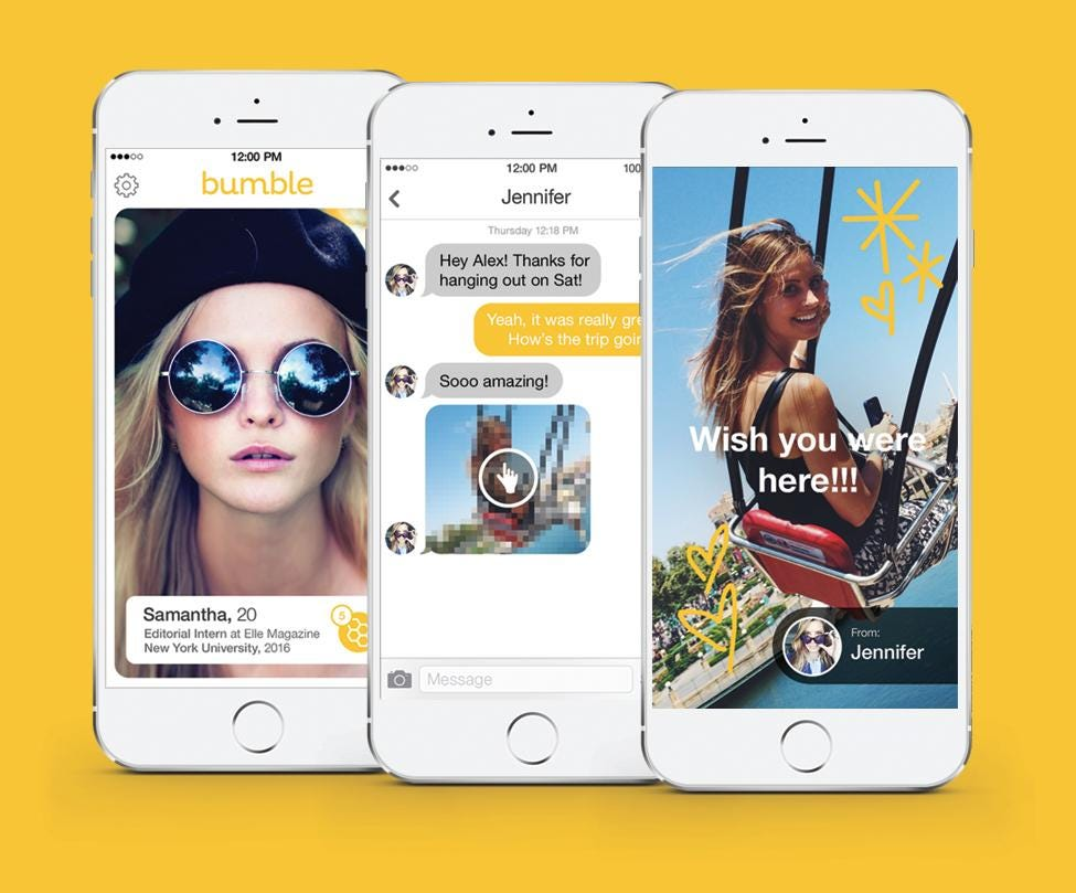 dating apps like tinder and bumble women free shipping