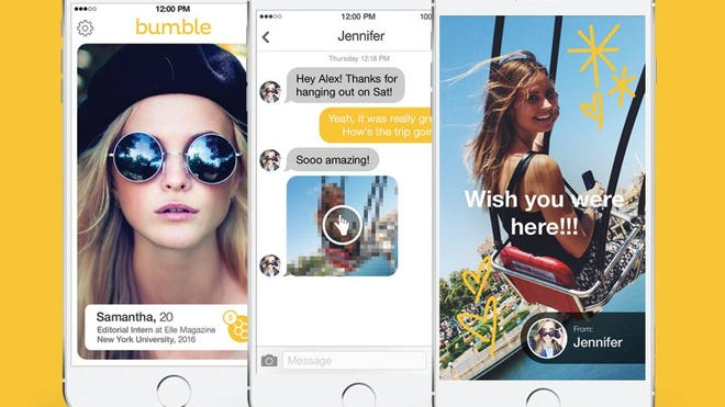 Bumble is a dating app that gives connections 24 hours to make the first move.