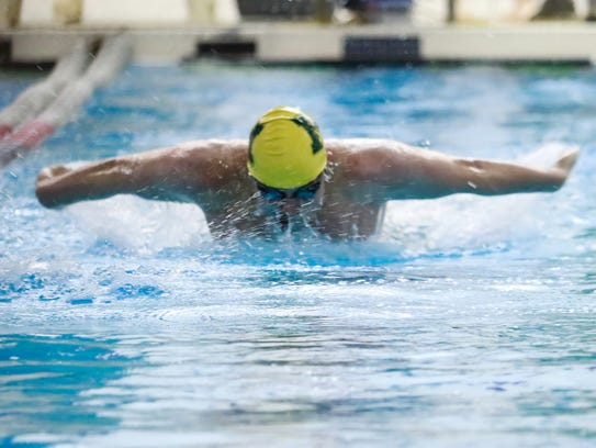 Stephen Meagher holds Howell's school record in the