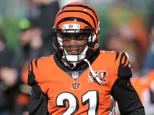 Cincinnati Bengals cornerback Darqueze Dennard might