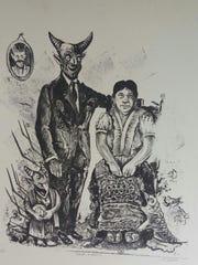 """""""Retrato de familia"""" by Guillermo Cordero."""