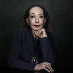 Joyce Carol Oates takes nothing back; will visit Mississippi for first time next week