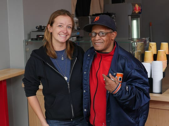 Dilla's Delights owner and head baker Herman Hayes,