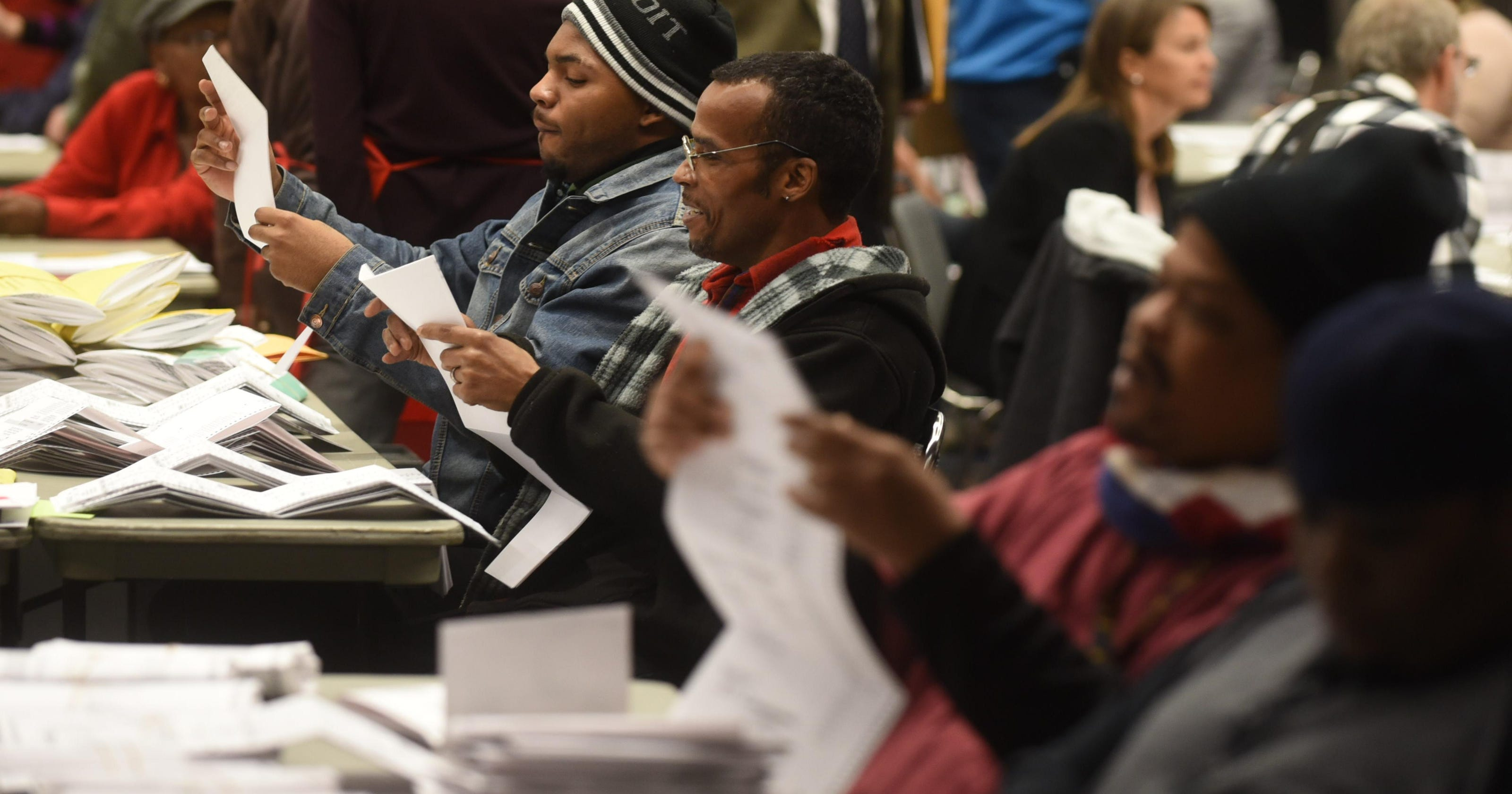 Records: 37 percent of Detroit's precincts registered more votes than they should have