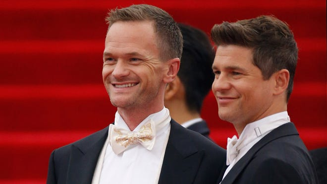Neil Patrick Harris and David Burtka.
