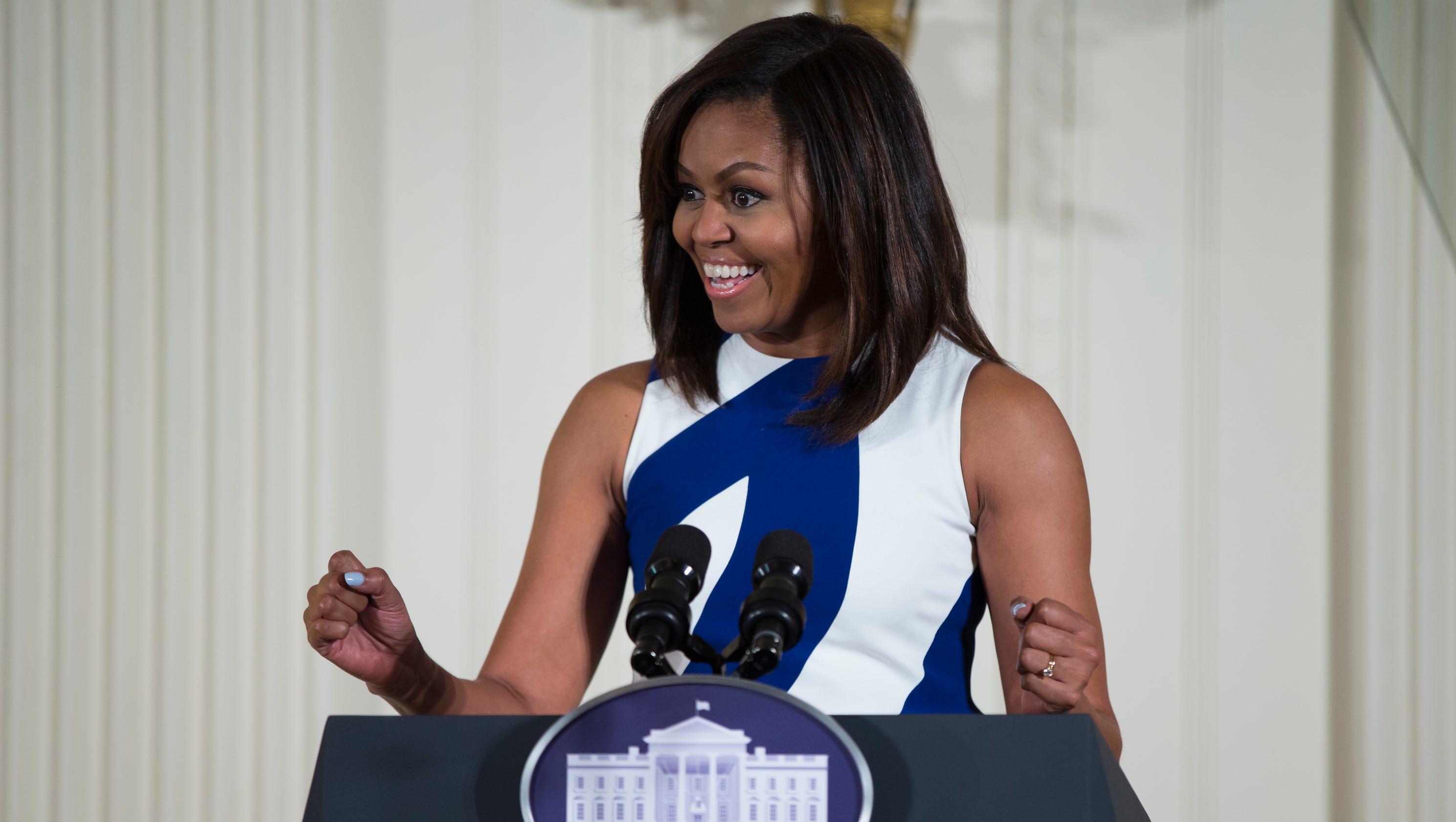 Michelle Obama,...