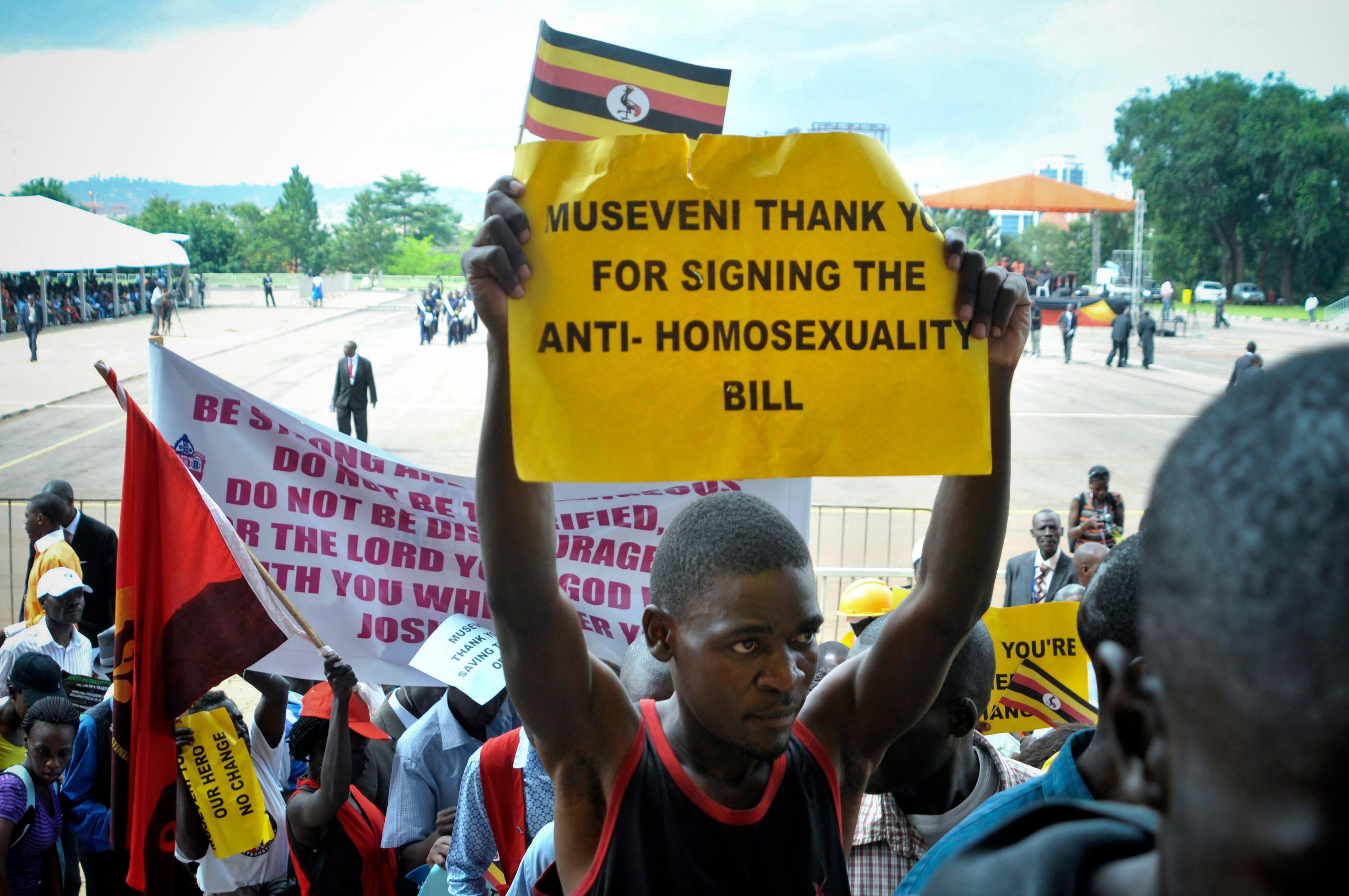 Uganda anti homosexuality legislation