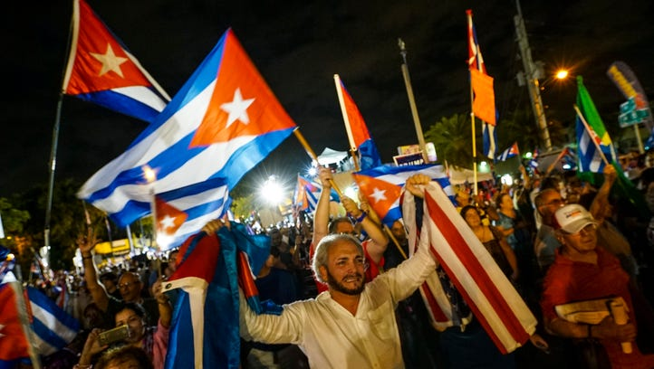 Thousands rally in Miami for political change in Cuba