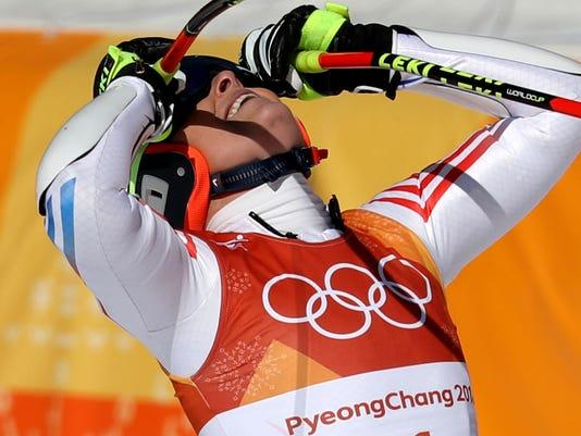 USP OLYMPICS: ALPINE SKIING-WOMENS SUPER-G S OLY KOR