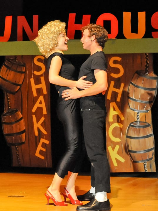 """Hanover High School students perform in """"Grease."""" (Submitted photo)"""