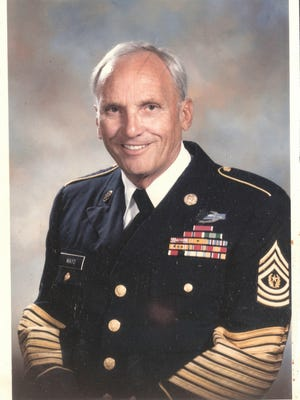 Command Sgt. Maj. Morton R. Mayo