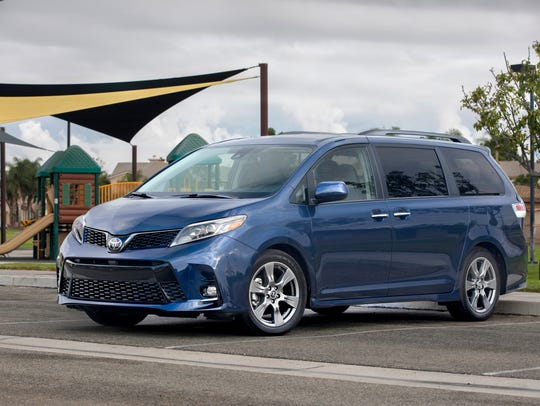 The 2018 Toyota Sienna.