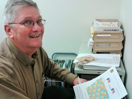Energetic local historian Rex Brandstatter is the go-to