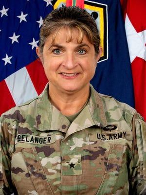 U.S. Army Brig. Gen. Kris Belanger