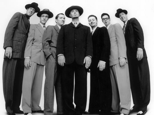 Big Bad Voodoo Daddy will perform at the Waterfront Blues Festival in Portland.