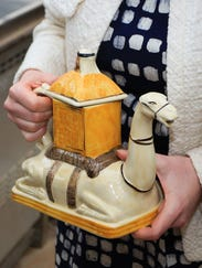 Camilla's camel teapot