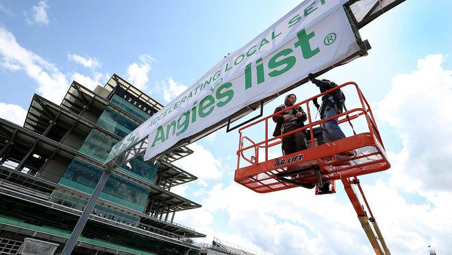 Angie's List is sponsoring this Grand Prix of Indianapolis at IMS.