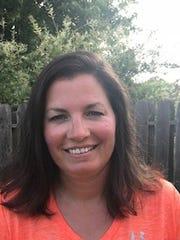 Clarksville High tennis coach Katharine Wiggins