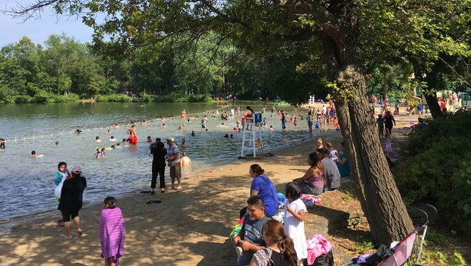 The beach at Menomonee Park in Menomonee Falls opens Saturday, June 16. If you go in the water to cool off, be aware of the threat of swimmer's itch, which has been found at the beach.
