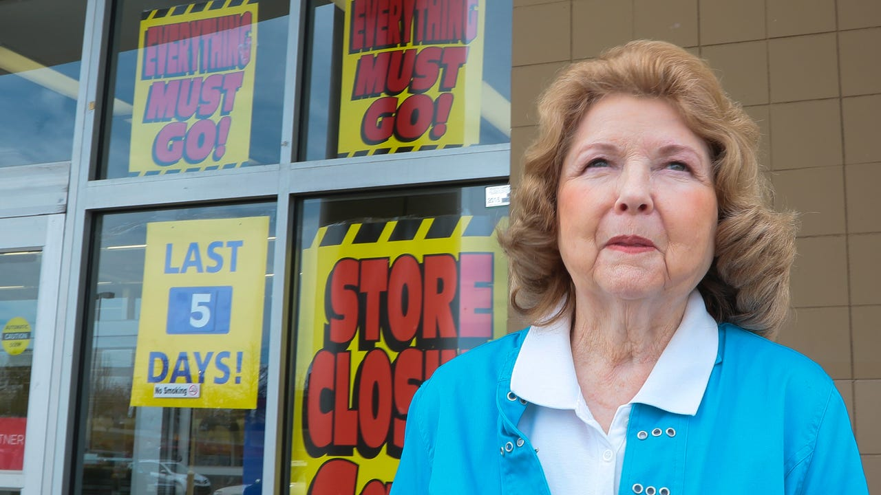 Kmart shoppers share their feelings about a shopping institution closing after a 48-year run in Anderson, S.C.