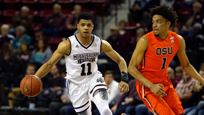Mississippi State guard Quinndary Weatherspoon scored 21 points in his return to the court on Thursday.