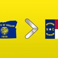 Why Oregon is better than North Carolina