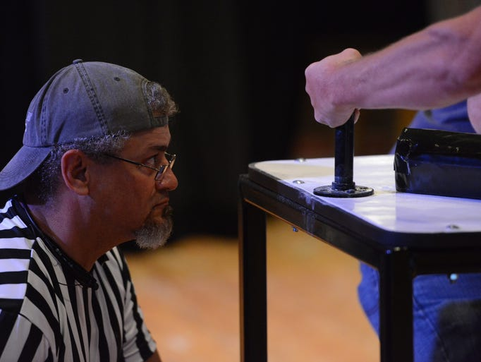The Iron Arms Arm Wrestling Competition was held Saturday afternoong, August 2, 2014 at Chester County Middle School.