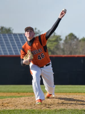 Barnegat's Jason Groome won't be back on the mound until May after the NJSIAA ruled him ineligible for April.