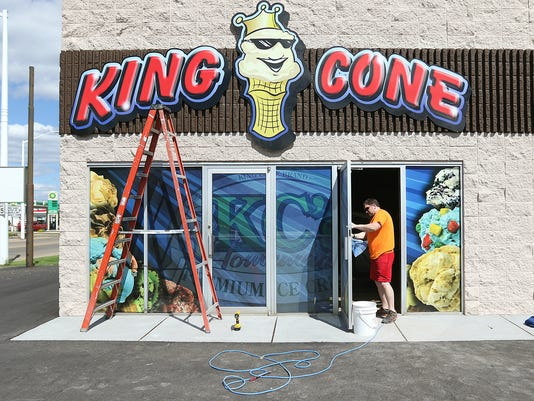 King Cone in Wisconsin Rapids