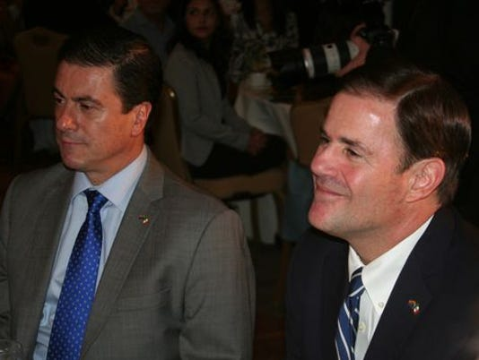 ambassador and Ducey