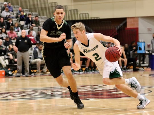 KC Hunt scored a game-high 22 points for Ramapo.