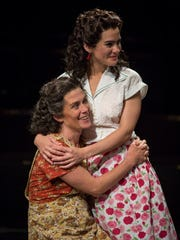 "Colleen Madden (left) and Melisa Pereyra, seen here in ""A View From the Bridge,"" will play leading roles during American Players Theatre's 2018 season."
