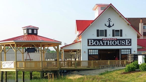 The Bethany Boathouse, located just outside of Bethany Beach, is open until 1 a.m.