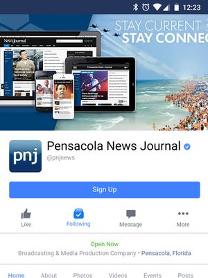 Stay up-to-date on local news by following the Pensacola News Journal on Facebook.