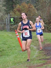 Kennedy junior Kaylin Cantu placed third at the OSAA