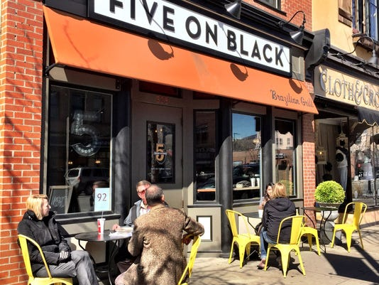 1 - Five on Black