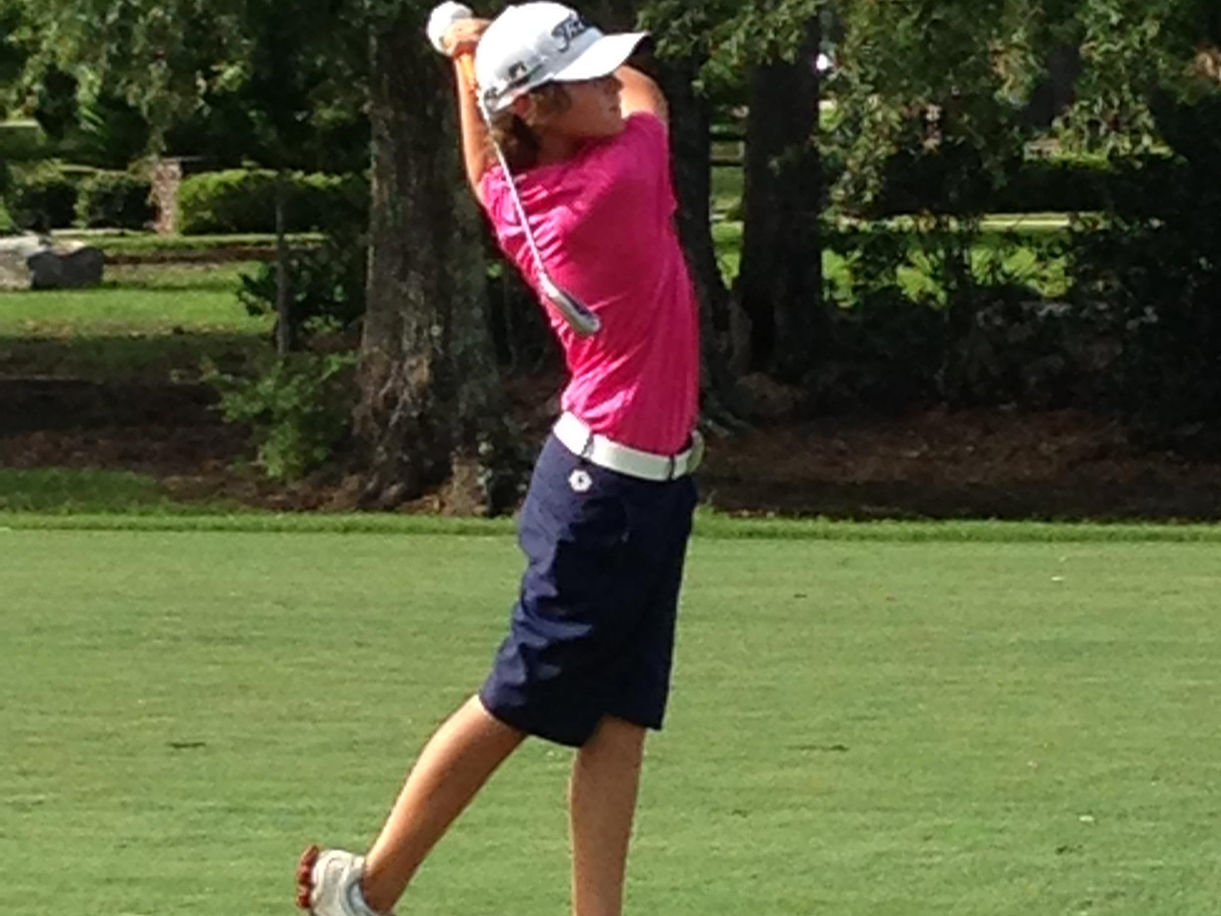 Brame Middle School eighth-grader Chance Queen, 13, finished tied for second in the 13- to 14-year-old age group at the Louisiana Junior Amateur Championship, shooting a 3-over 75 on Thursday.