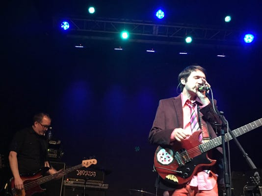 Photo courtesy of Arianne Rodriguez - Tim Kasher of Cursive performs Wednesday, Feb. 25 at Tricky Falls.