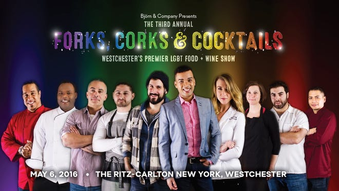 Win your VIP tickets to the third annual Forks, Corks and Cocktails, Westchester's premier LGBT food and wine show. This year's event will be held on Friday, May 6 at the Ritz-Carlton, White Plains from 7:30 to 11 p.m.